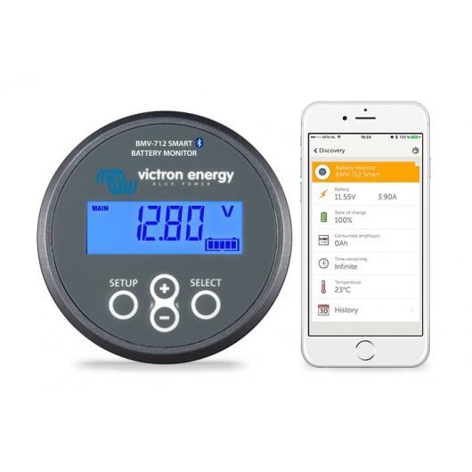 Victron Batterie Monitor BMV 712 Black Smart